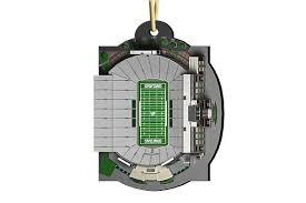 michigan state stadium ornament 2016 zverse 3d printed