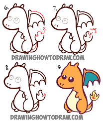 dragon drawings cute pokemon images pokemon images