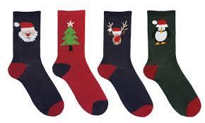 mens christmas socks cotton rich men s christmas socks groupon goods