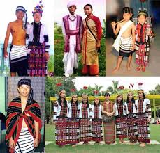 colourful traditional mizo costumes culture nelive