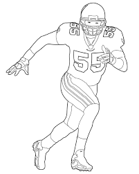 nfl team coloring pages football player coloring pages getcoloringpages com