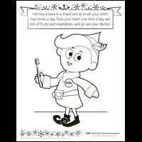 hermey elf holiday teeth tips activities american