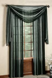Sheer Metallic Curtains Ombre Decorative Curtain Panels Black Achim Outs All