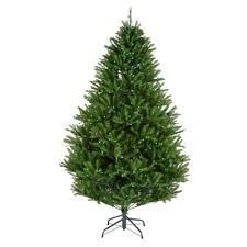 7 5 ft pre lit led california cedar artificial christmas tree
