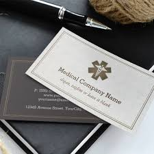 stylish medical symbol company corporation business card templates