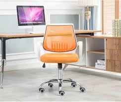 chaise accueil bureau salon tournant chaise bureau orange ascenseur tabouret accueil