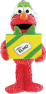 elmo ornaments collection on ebay