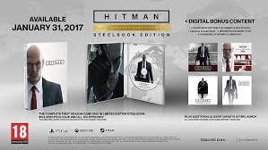 hitman the complete first season steelbook edition pc cd