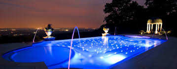 swimming pool lighting design far fetched infinity edge pool