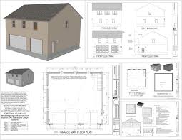 1 5 Car Garage Plans 100 Detached Garage With Apartment Garage Plans For A Big