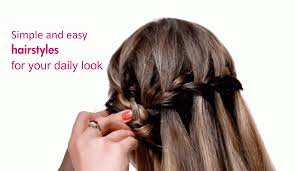 simple and easy hairstyles for your daily look girls glamour