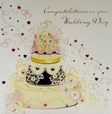 congrats wedding card wedding cake congrats wedding card