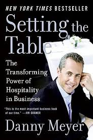 setting the table book setting the table meyer danny 9780060742768 hpb