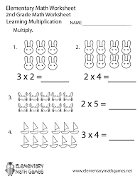 second grade math facts worksheets best 25 multiplication