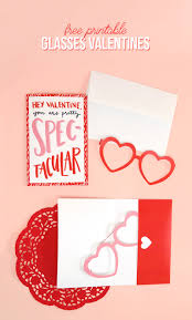 free printable valentine cards with heart glasses persia lou