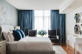 Blue Curtains Bedroom Grand Curtains Bedroom Transitional With Sheer Curtains Recessed