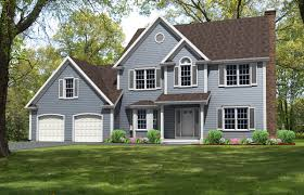 colonial home designs plan 9621 cl custom design colonial house plan style and