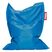 Big Joe Bean Bag Lounger Chair Hundreds Colorful Ace Bayou Chair Stadium Gold Blue Bean