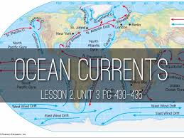 Map Of Ocean Currents Earth U0027s Oceans By Alexandra Camargo