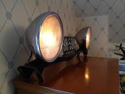 Cobra Head Light Fixtures by Headlight Lamp From The 1928 Essex Car Repurposed Pinterest