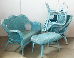 divanetto vimini set divanetto e poltrone in vimini mercatino dell usato eureka