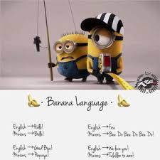 Minions Banana Meme - minion s language banana language by wacom meme center