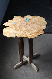 Big Coffee Tables by Hand Made Big Leaf Maple Burl Live Edge Coffee Table By Holtzer