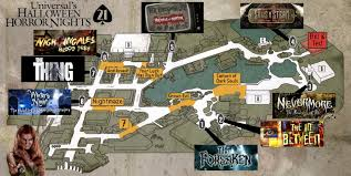 uss halloween horror nights 2012 hhn map