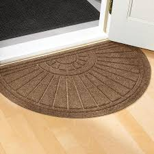 Design Ideas For Half Circle Rugs Front Door Entrance Mats I82 On Beautiful Interior Designing Home