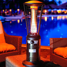 stainless steel commercial patio heater patio ideas gardensun 40000 btu stainless steel pyramid flame