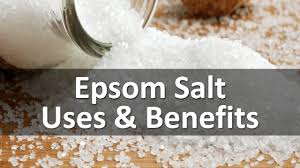 epsom salt vs table salt epsom salt uses and benefits youtube