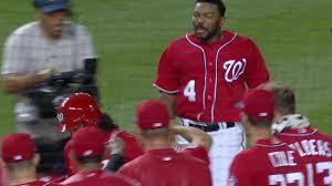 howie kendrick u0027s extra inning grand slam finally puts nats giants
