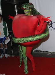 biblical halloween costumes heidi klum arrives at her annual halloween party with five