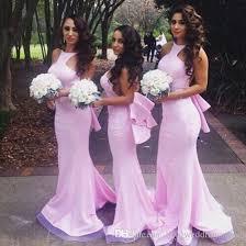 bridesmaid dresses uk pink backless bridesmaid dresses mermaid