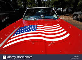 How To Paint American Flag Red Plymouth Fury 67 With The U S American Flag Painted On The