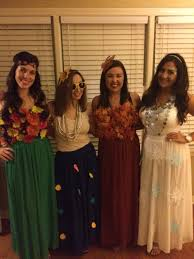 four seasons costume ideas homemade fall spring winter summer