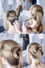 Hochsteckfrisurenen Selber Machen Lange Haare by Strähne Teilen Gut Bürsten Haarklammer Frisuren Selber Machen