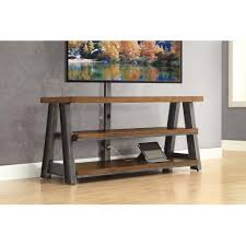 1 Homes by Better Homes And Gardens Mercer 3 In 1 Brown Tv Stand For Tvs Up