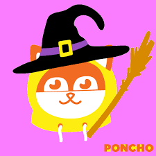 happy halloween gif by poncho find u0026 share on giphy