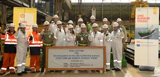 shell starts construction of lng bunker vessel lng world news