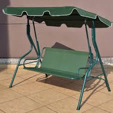Lawn Swing 3 Seats Patio Canopy Swing Porch Swings Outdoor Living Lawn