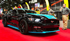 mustang for sale in dallas richard petty mustang wows the crowd at mecum dallas auction