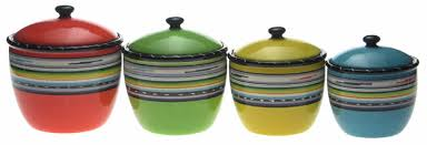 colorful kitchen canisters vibrant kitchen canisters sets which lift even tired decor