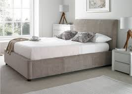 upholstered ottoman storage bed mink