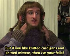 The Hobbit Meme - the hobbit but if you like knitted cardigans and knitted