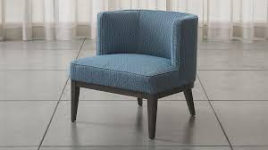 Crate And Barrel Desk Chair Grayson Blue Barrel Chair Crate And Barrel