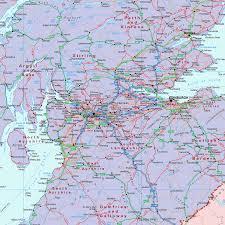 British Isles Map Scottish British Isles Political Map 1 1m Gif Image Xyz Maps