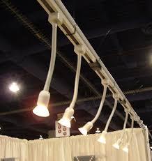 art show display lighting cow art and more portable art gallery lighting