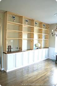 Bookcase Desk Diy Bookcase Bookshelf With Desk Built In Ikea Diy Built Ins