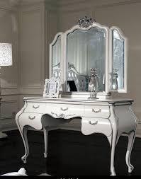 chambre baroque chambre à coucher commode coiffeuse blanc chambre baroque